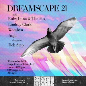 flyer for Dreamscape 21